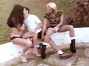 Adrien and his two tranny friends!!! xxx video