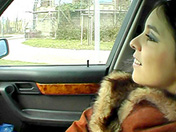 Hitchhiker in fur coat and greedy deep-throat porn videos