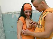 Polvo en el s�tano sexo video