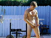 Musculation et contorsion pour bonne fellation x video gay