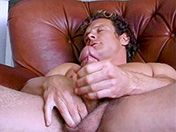 Curly-haired hunk and smooth wank gay video