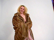 Fur coat and painful sex xxx video