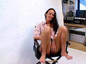 College girl for photo casting and hot cum-blasting xxx video
