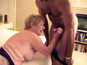 Mrs Richardson is crazy about black guys  sex video