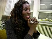 A black slut has a job interview porn videos