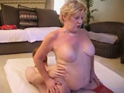 Santa girl deflowers a geek! porn video