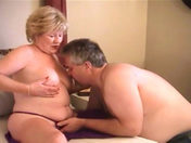 A beefy drunk German guy fucking a nasty old lady!!! porn video