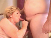 A beefy drunk German guy fucking a nasty old lady!!! porn videos