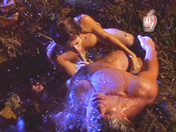 Acrobatic fuck under a waterfall! porn video