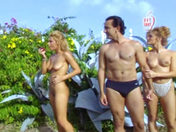 Latina gets screwed and spied on in Paradise :-)! porn video