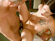 Ember hot, she wants him at the restaurant sex video