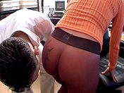 Secretaria castigada y follada videos porno