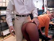 Secrétaire punie et pinée sexe video