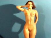 Making off a lesbian orgy porn video