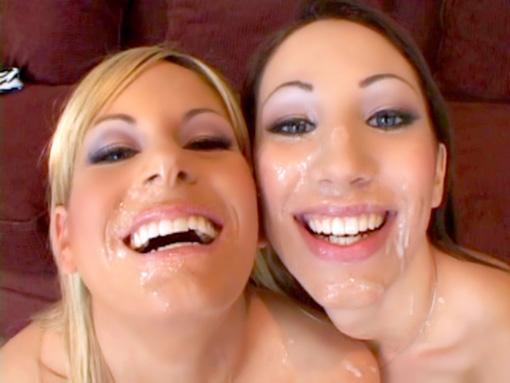 La blonde, la brune et le jus de burnes video sexe