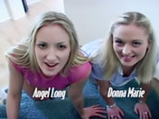 Couple Anal : Angela Long & Donna Mary !!