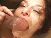Age doesn't matter when it comes to eating older wenches! sex video