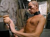 Il obéi à son maitre et est en extase devant un gode video x gay