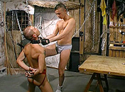 A gay slave pleases his master gay porn video