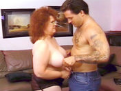 Grandmother, what big tits you have! xxx video