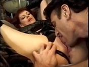 Vieille maitresse et bite tendue