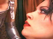 The slave shivers with anticipation! xxx video