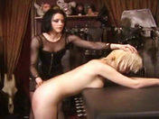 A Redheaded Dominatrix and a Blonde Slave! adult video