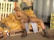 Black et blond font la paire pour une défonce anale