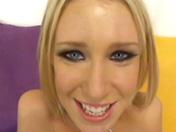 Casting pour jeune salope blonde