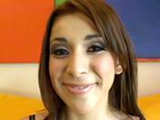 Une latine participe à son premier casting porno