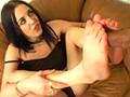 Mélange ethnique pour fétichiste des pieds