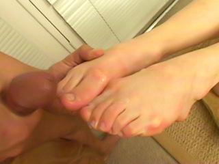 Mix etnico per feticista dei piedi
