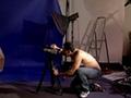 Org�a improvizada rodando un film gay