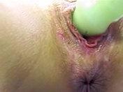 Masturbación en primer plan