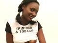 Supportrice de Trinidad & Tobago en show sexy privé !