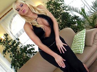 Classy blonde slut!