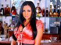 Audrey Bitoni se fait prendre dans le bar !