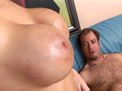 Une maitresse de maison veut du cul chez elle