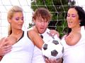 Équipe de foot et salopes