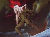 La Vampira si prende dei tentacoli nel culo